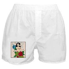 Old School Mermaid Boxer Shorts