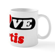 I Love Kurtis Small Mug