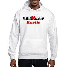 I Love Kurtis Hoodie