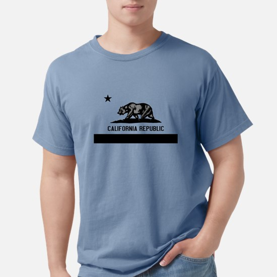 California Flag Black and Grey T-Shirt