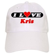 I Love Kris Baseball Cap