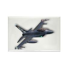 F-16 C Rectangle Magnet