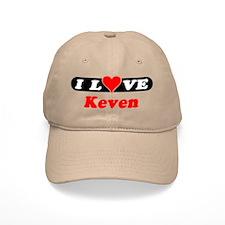 I Love Keven Baseball Cap
