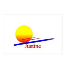 Justine Postcards (Package of 8)