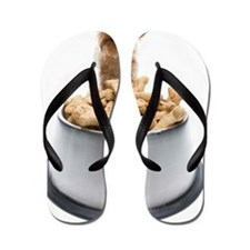 Bowl of dog treats by Yorkshire Terrier Flip Flops