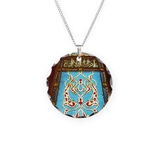 Stained glass window in mosq Necklace