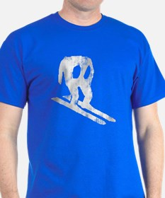 Worn Horace Skiing T-Shirt