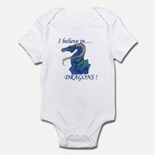 I Believe in DRAGONS! Infant Bodysuit