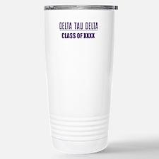 Delta Tau Delta Class Stainless Steel Travel Mug