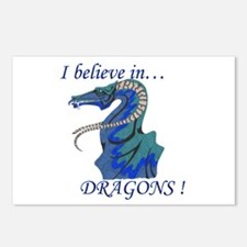 I Believe in DRAGONS! Postcards (Package of 8)