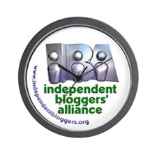 Independent Bloggers Wall Clock