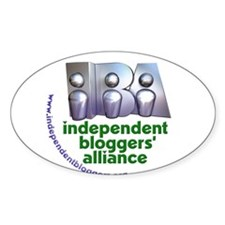 Independent Bloggers Oval Decal