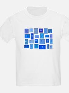 GREEK ABC TILES T-Shirt