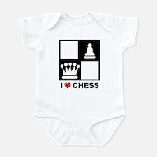 I Love Chess Infant Bodysuit
