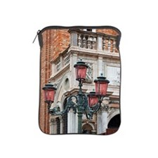 a lampstand in st. mark's square iPad Sleeve