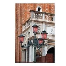 a lampstand in st. mark's Postcards (Package of 8)