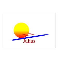 Julius Postcards (Package of 8)
