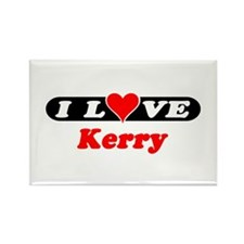 I Love Kerry Rectangle Magnet (100 pack)