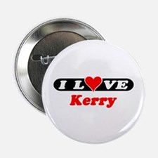 I Love Kerry Button