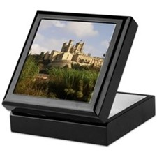Saint-Nazaire cathedral in Beziers. Keepsake Box