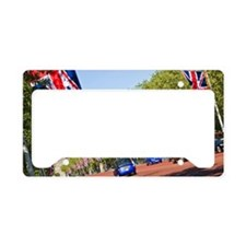 Bunting and taxis on The Mall License Plate Holder