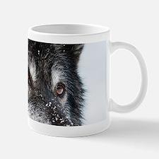 Beautiful Grey Wolf Mugs