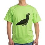 Baby African Gray Parrot Green T-Shirt
