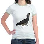 Baby African Gray Parrot Jr. Ringer T-Shirt