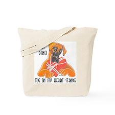 N Fawn Tug Tote Bag