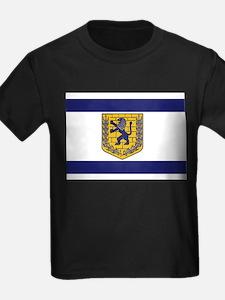 Jerusalem Municipal Flag T