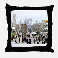 1964 World's Fair/Unisphere Throw Pillow