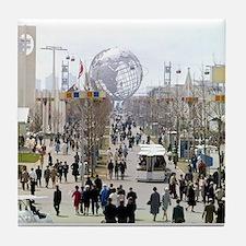 1964 World's Fair/Unisphere Tile Coaster