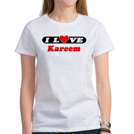 I Love Kareem Women's T-Shirt