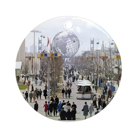 1964 World's Fair/Unisphere Ornament (Round)