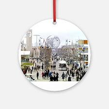 1964 World's Fair/Unisphere Ornament (Round)