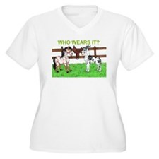 Cute Great dane saddle T-Shirt