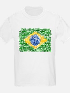 Textual Brasil T-Shirt