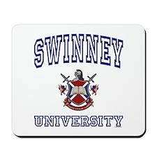 SWINNEY University Mousepad