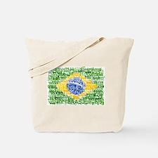 Textual Brasil Tote Bag