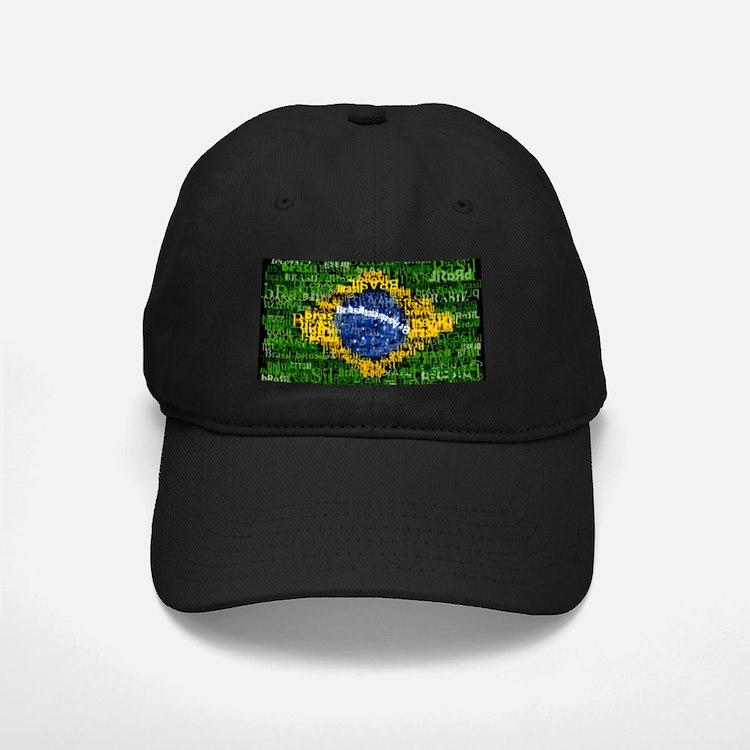 Textual Brasil Baseball Hat