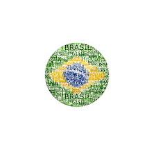 Textual Brasil Mini Button