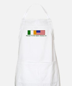 Proud to be Irish American BBQ Apron