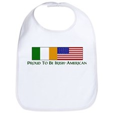 Proud to be Irish American Bib