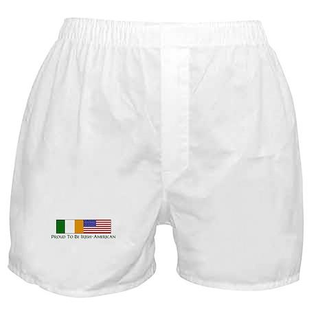 Proud to be Irish American Boxer Shorts