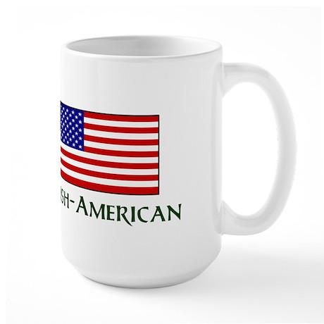 Proud to be Irish American Large Mug