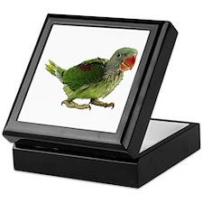 Baby Parakeet Photo Keepsake Box
