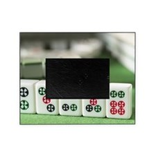 Row of Mahjong Picture Frame