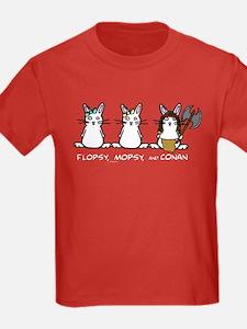 Flopsy/Mopsy/Conan Kids Color T-Shirt