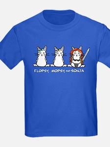 Flopsy/Mopsy/Sonja Kids Color T-Shirt