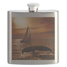 Sailing with whales Flask